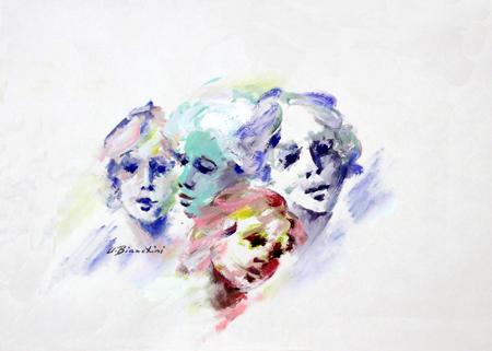 Mostra di pittura di Umberto Bianchini
